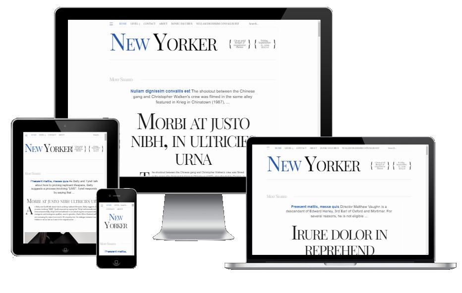 newyorker template